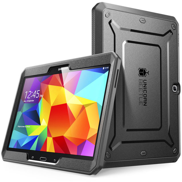 SUPCASE For Samsung Galaxy Tab 4 10.1 Case UB Pro Full body Rugged Hybrid Protective Cover Case with Built in Screen Protector