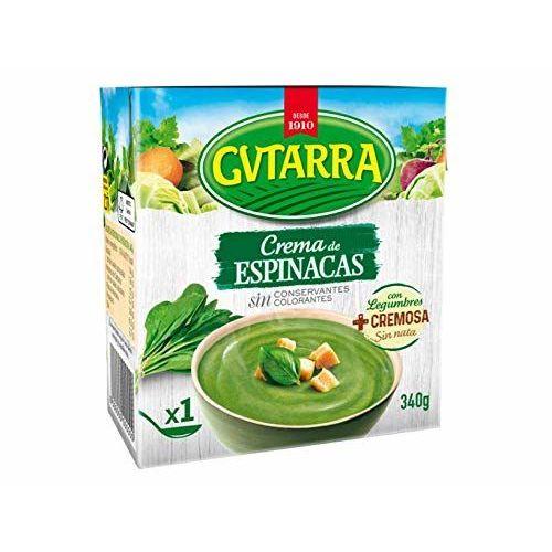 Crema De Espinacas Con Legumbres Envase 340 G