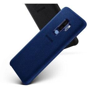 Image 4 - SAMSUNG Original Anti knock Offizielle Telefon Fall Für Samsung Galaxy S9 G9600 S9 + S9 Plus S9Plus G9650 Alcantara telefon Abdeckung Fall