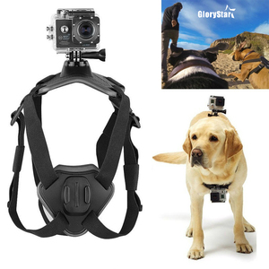 Image 1 - Fetch Dog Mount Harness Chest Strap Mount for Gopro Hero 87 6 5 4 session 3 OSMO SJCAM Xiaomi Yi 4K GO H9 PRO Camera Accessories