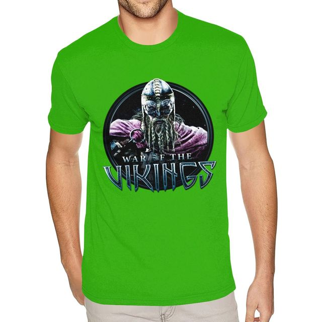 War Of The Vikings Dock Icon Version 2 Tee Family Urban T Shirt Homme Short Sleeved Low Price Branded Merch T Shirts Aliexpress