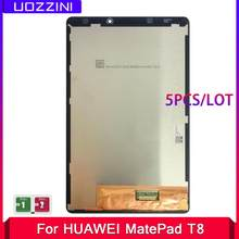 5 Pcs/Lots LCD Screen For Huawei Matepad T8/T 8.0 Kobe2-L09 Kobe3-l09 KOBE2-W09 Display Touch Screen Digitizer Assembly