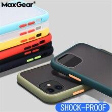Étui de téléphone en silicone hybride Transparent antichoc pour iPhone 12 Mini 11 Pro Max X XS XR Max 8 7 6 S Plus SE couverture arrière souple transparente
