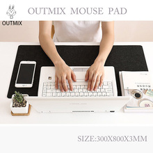 Hot Sell Extra Large Mouse Pad Felt oversized Gaming Mousepad non-slip thickened gaming keyboard mat Anti-slip desk pad