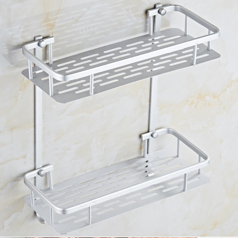 Bathroom Shelf Layer Bathroom Accessories Storage Organizer For Shampoo Soap Cosmetic Basket Holder Living Room Potted Stand