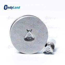 CandyLand portfel Logo Tablet Die 3D prasa do pigułek formy cukierki wykrojnik własne Logo wapń Tablet wycinak do TDP 0 maszyna