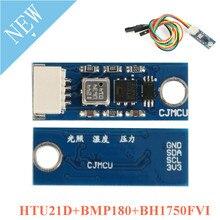 Htu21d + bmp180 + bh1750fvi 모듈 날씨 센서 온도 및 습도 압력 조명 센서 cjmcu 광 센서