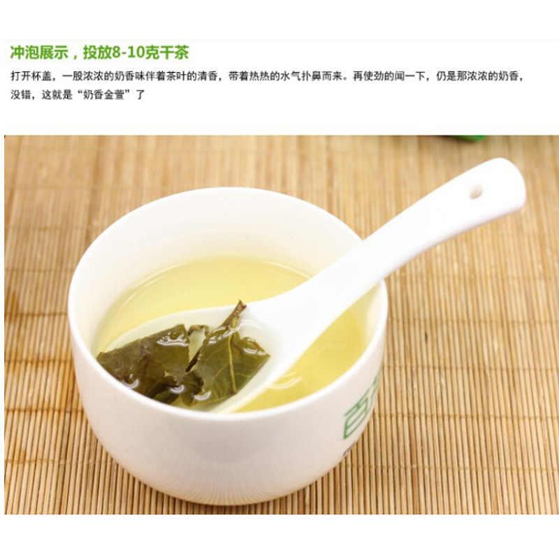 2019 טייוואן גבוה הרי ג 'ין סואן חלב אולונג תה לבריאות Dongding אולונג תה ירוק מזון עם חלב טעם