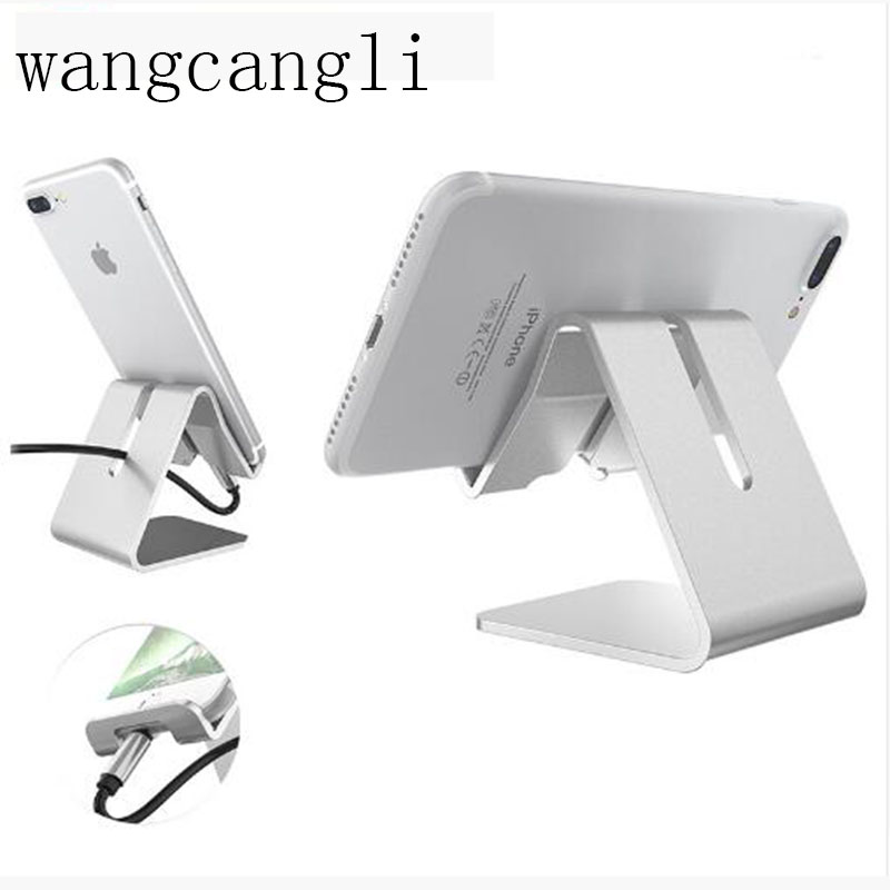 WangCangli Tablet PC Stand For IPhone Universal Cell Phone Desktop Phone Stand Phone Holder Stand Wholesale