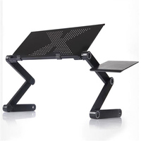 Foldable Laptop Desk Lifting Notebook Tablet PC Adjustable Computer Table with Stand Tray For Home Office Laptop Desk Computer