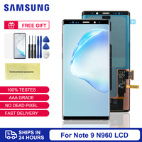 Super Amoled For Samsung Note 9 LCD Frame Note9 N960F Display For Samsung Galaxy Note 9 Screen Replacement Digitizer Assembly
