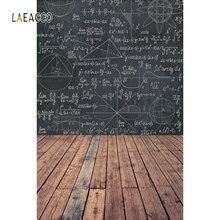 Laeacco fondo fotográfico de suelo de madera para estudiantes, fotofono con patrones geométricos, telón de fondo para fotografía