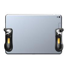 PUBG Ipad 트리거 컨트롤러 커패시턴스 L1R1 화재 조준 버튼 Gamepad 조이스틱 Ipad 태블릿 전화 FPS 게임 액세서리