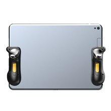 PUBG Ipad tetik denetleyici kapasite L1R1 yangın amacı düğmesi Gamepad Joystick Ipad tablet telefon FPS oyun aksesuarları