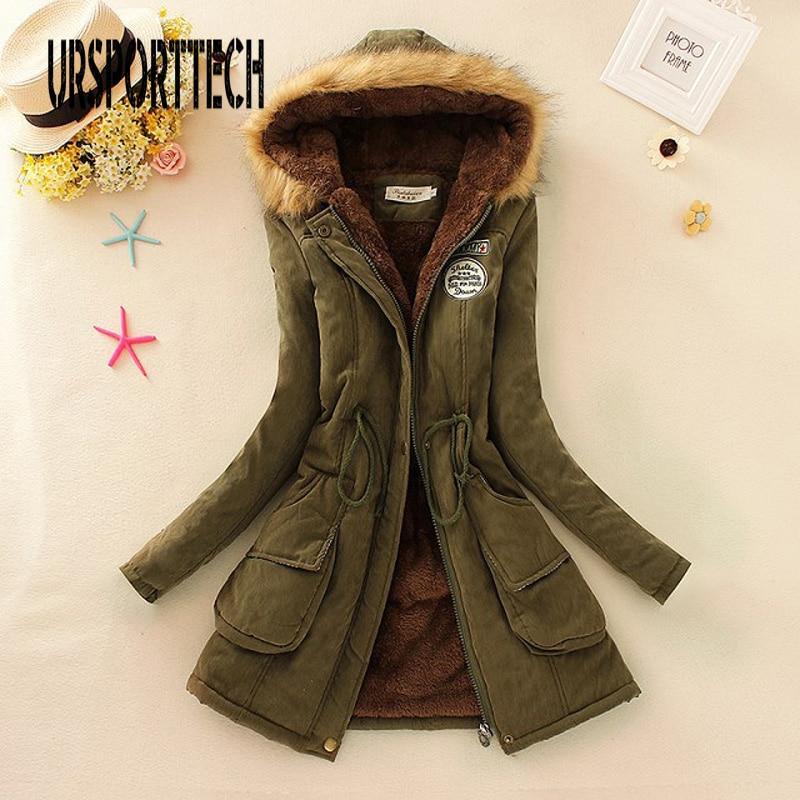 Winter Jacket Women Long Parka Thick Warm Hooded Long Coats Mujer Cotton Padded Coat Womens Outwear Parkas Plus Size Fur Coat