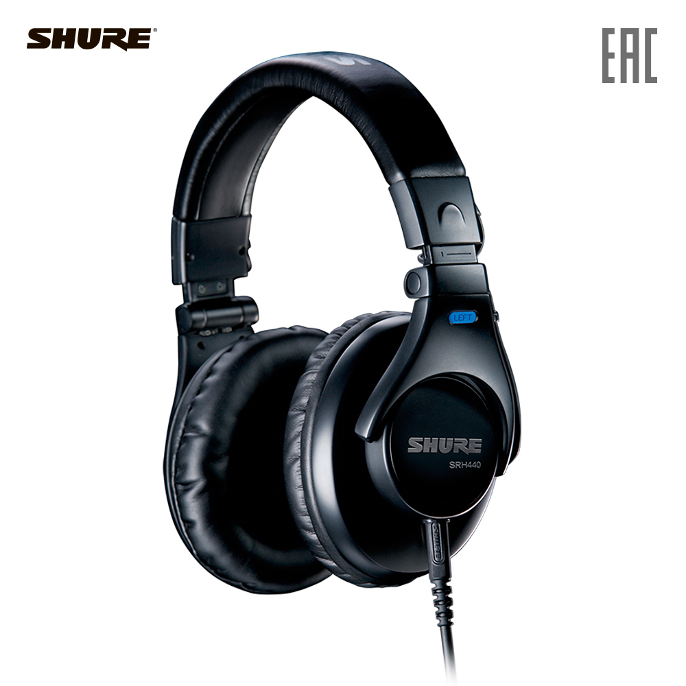 Earphones & Headphones SHURE SRH440-EFS Consumer Electronics Portable Audio Earphone Headphone headset for phone computer стоимость