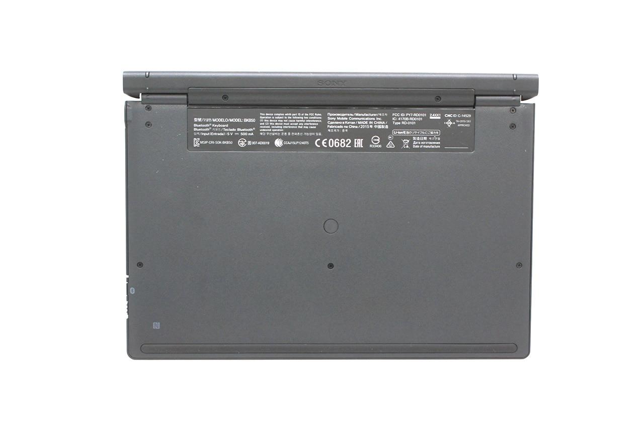 索尼SONY Xperia Z2 Z4 平板无线蓝牙键盘 蓝牙4.1 Tablet SGP771 BKB50 Wireless Keyboard Z4 SGP771