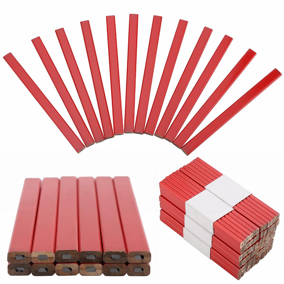 carpinteiro lapis carpintaria ferramenta marcacao duravel lapis 175mm frete gratis 05