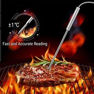 Image 5 - ThermoPro TP 08S 90M מרחוק אלחוטי מזון מטבח מדחום בדיקה כפולה עבור מנגל, מעשן, גריל, תנור, בשר עם טיימר