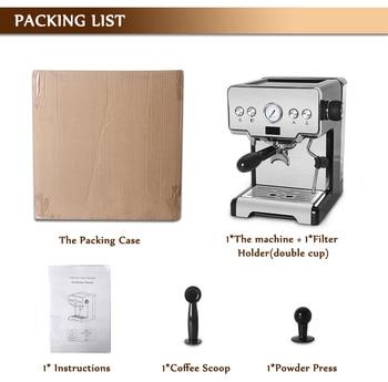 ITOP 15 Bar Italian Semi-automatic Coffee Maker Cappuccino Milk  Bubble Maker Americano Espresso Coffee Machine for Home 6