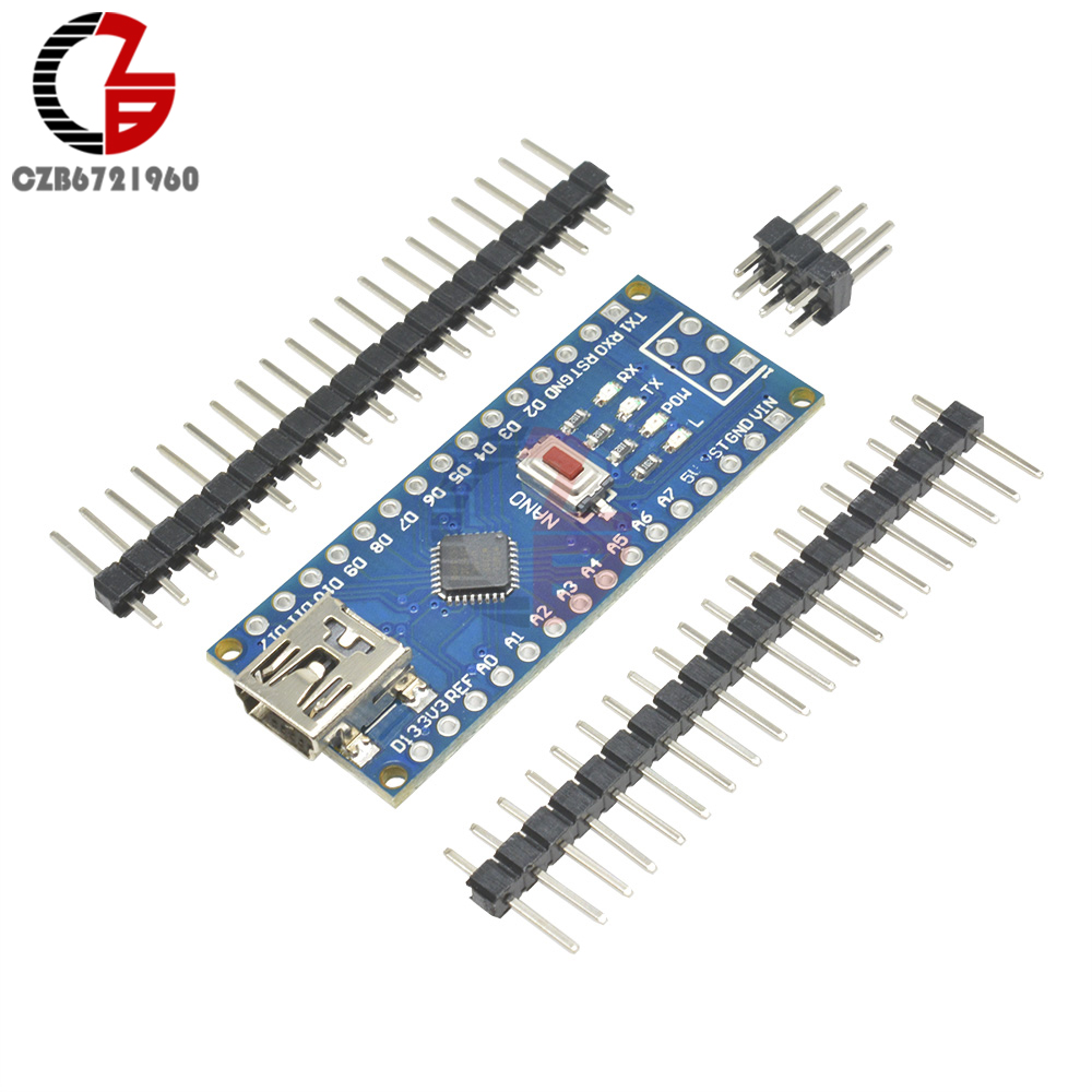 Mini USB CH340 CH340G Nano V3.0 ATmega328 16M 5V плата микроконтроллера ATmega328P модуль драйвера DIY комплект для Arduino