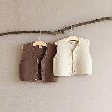 Vest Baby Cardigan-Vest Knit Autumn Sweater Chalecos