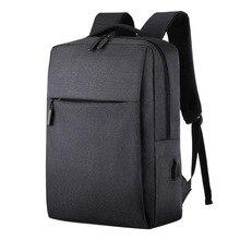 มัลติฟังก์ชั่แล็ปท็อปกระเป๋าเป้สะพายหลังแล็ปท็อป Mochila 15.6 นิ้วแล็ปท็อปกระเป๋า USB ชาร์จพอร์ตกระเป๋านักเรียนธุรกิจแล็ปท็อปกระเป๋า
