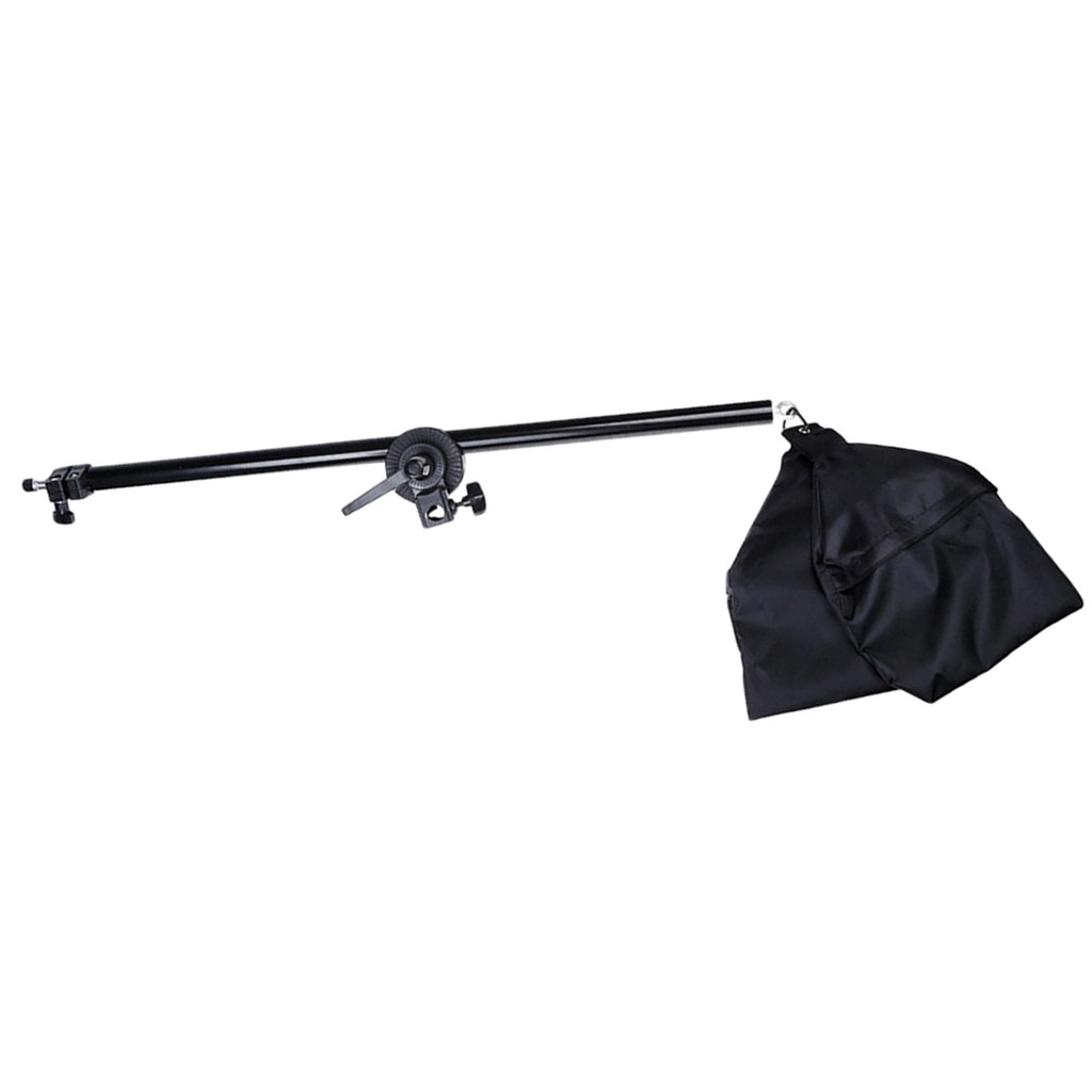 Photo Studio Photography Overhead Boom Light Stand Lighting Arm with Sandbag