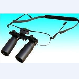 Image 2 - Keplerianas estilo Binocular Dental lupa 3X 4X 5X 6X 7X lupas médicas quirúrgicas ENT microscopio 3.5X 4.5X 5.5X gafas lupa