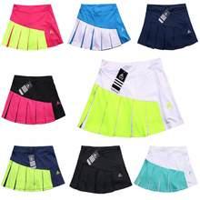 Faldas de tenis para niñas, pantalones cortos de alta calidad con diseño de almazuela, Material grueso, para Yoga, bádminton