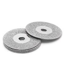 Disques de coupe en diamant de 50mm, 5 pièces, tige de foret pour lame d'outil rotatif WXTC