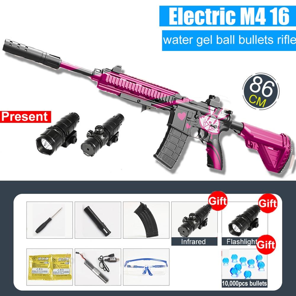 Water Gun M416 Automatic & Manual | Water Bullets Blaster 2