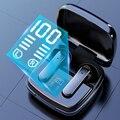 TWS Bluetooth беспроводные наушники, спортивные водонепроницаемые наушники с шумоподавлением, Bluetooth 5,1, Hi-Fi наушники с микрофонами