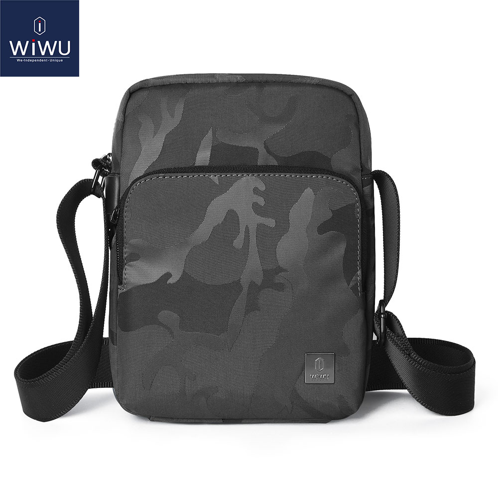 WIWU Crossbody Bag for iPad 7.9 8 9.7 10.2 10.5 11 inch Large Capacity Messenger Bag for iPad Pro 11 Waterproof Shoulder Bag(China)