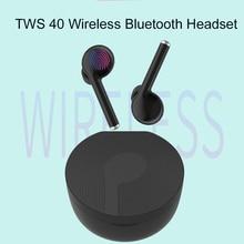 CALETOP TWS 40 Bluetooth 5.0 Wireless Earphone Waterpoof Earbuds with Microphone Handsfree Waterproof Headset for Huawei Xiaomi