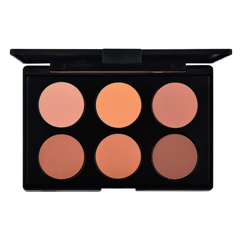 Teayason 6 colors blus box Miss Rose Blush Glow Kit