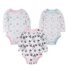 Детский комбинезон; милая Одежда для новорожденных из 100% хлопка;