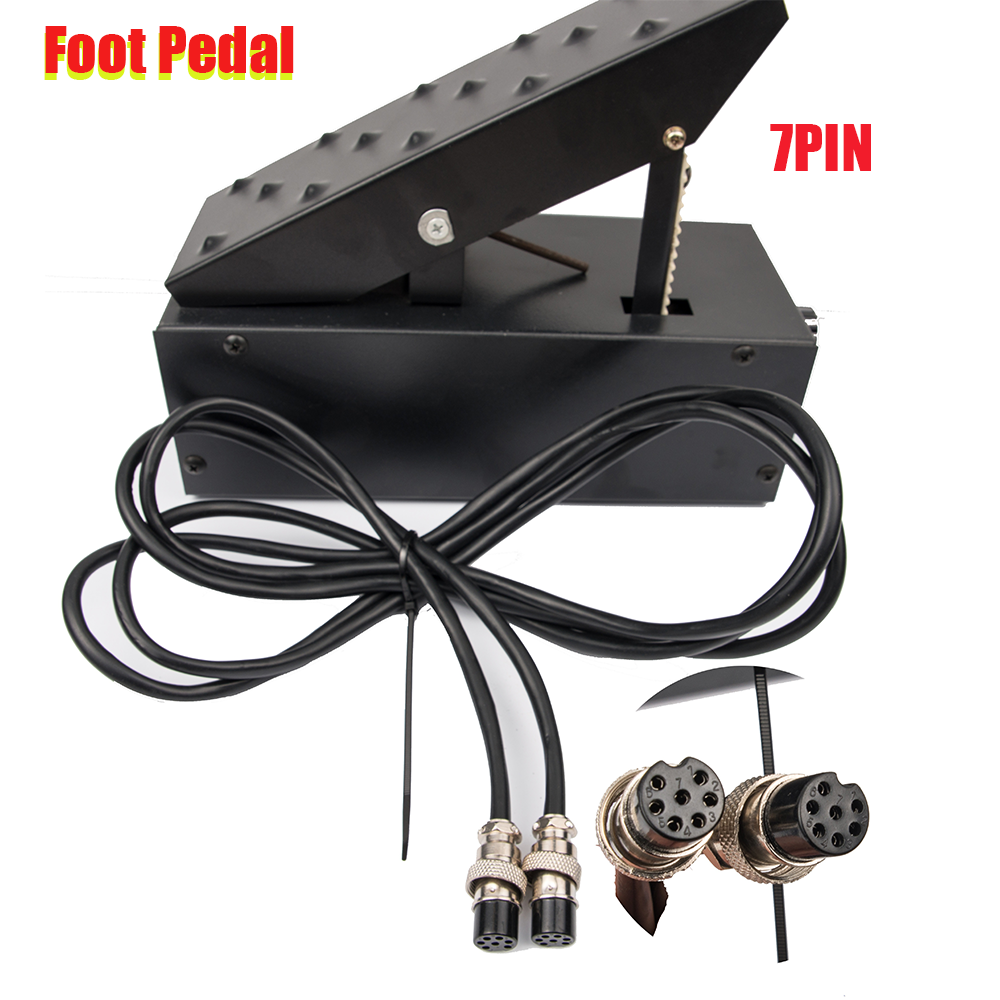 7 Pins  Amperage Controller Foot Pedal For TIG Welding Machine Plasma Cutter Power Control Welder Foot Pedal