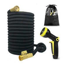 Expandable Garden Magic Flexible Hose High Pressure Water for Plastic Hoses Watering With Gun Spray Car