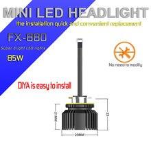 Fx h27 880 881 светодиодный лампы для автомобильных фар мини