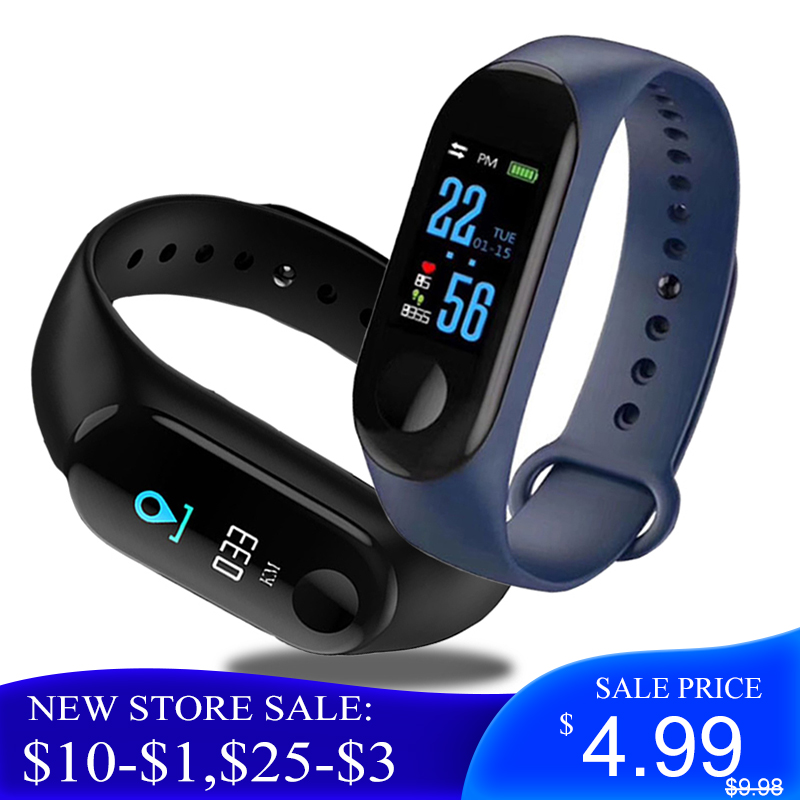M3Pro Smart Watch Sport Smart Band Blood Pressure Monitor Smart Smartwatch Bracelet M3Plus Wristband For Men Women