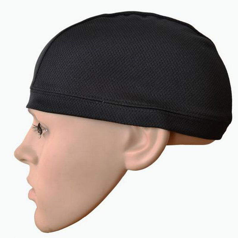 Motorcycle Bicycle Summer Breathable Headgear For Helmet Sweat Inner Cap For Men And Women Breathable Quick Dry Coolmax Headwear