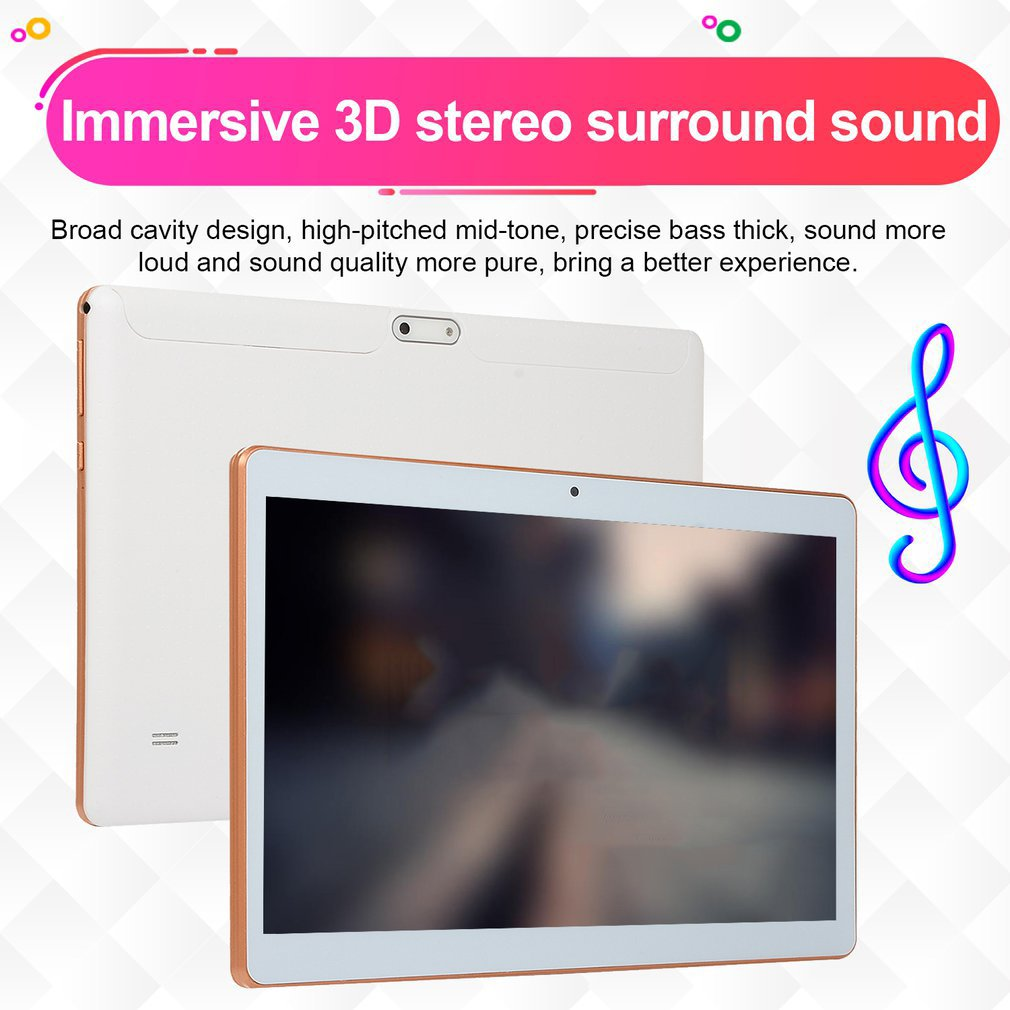 2019 10 pouces tablette PC 3G 4G LTE Android 8.1 10 Core métal tablettes 8GB RAM 128GB ROM WiFi GPS 10.1 tablette IPS WPS CP9 - 6