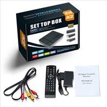 цена на High Digital TV Terrestrial receiver DVB T2 K2 support youtube FTA H.264 MPEG-2/4 PVR TV Tuner FULL HD 1080P set top box DFDF