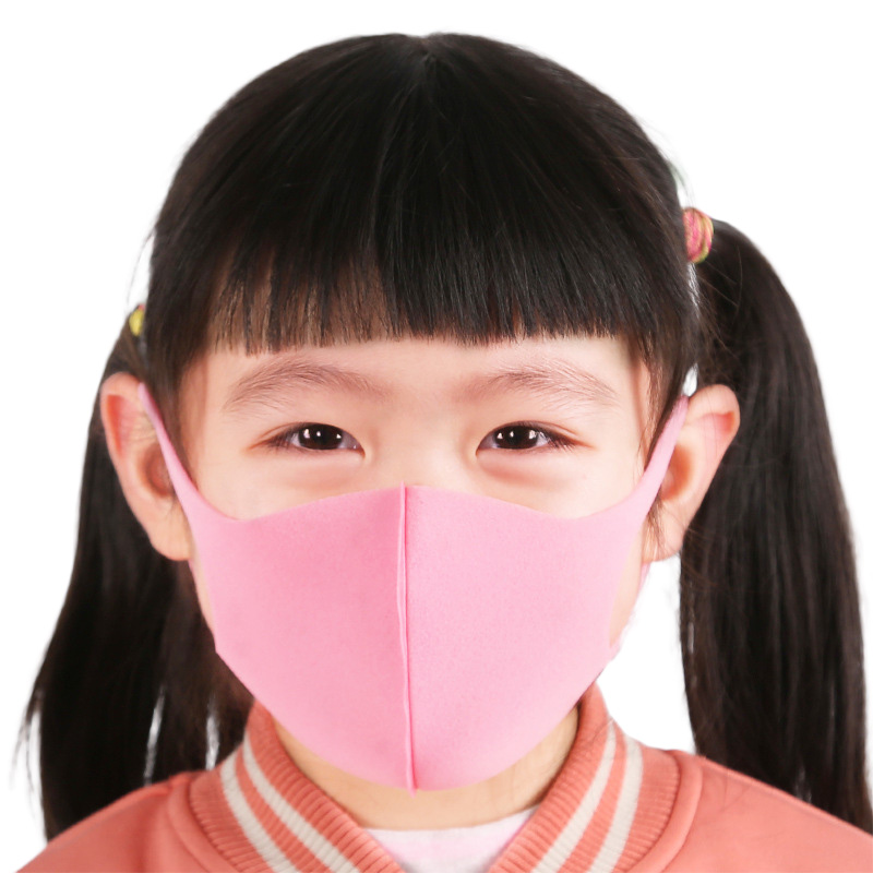 Face Mask For Kids Anti PM2.5 Dustproof Smoke Pollution Mask With Earloop Washable Respirator Children Face Mask