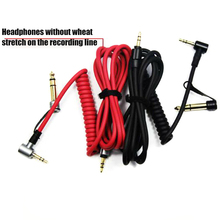 Replacement AUX 3.5mm 6.5mm Audio Cable Lead for Beats by Dr Dre Pro Detox Headphones LHB99 original replacement red aux auxiliary pro and detox edition cable wire cord for monster solo beats studio headphones by dr dre solo studio solohd headphones cable discontinued by manufacturer