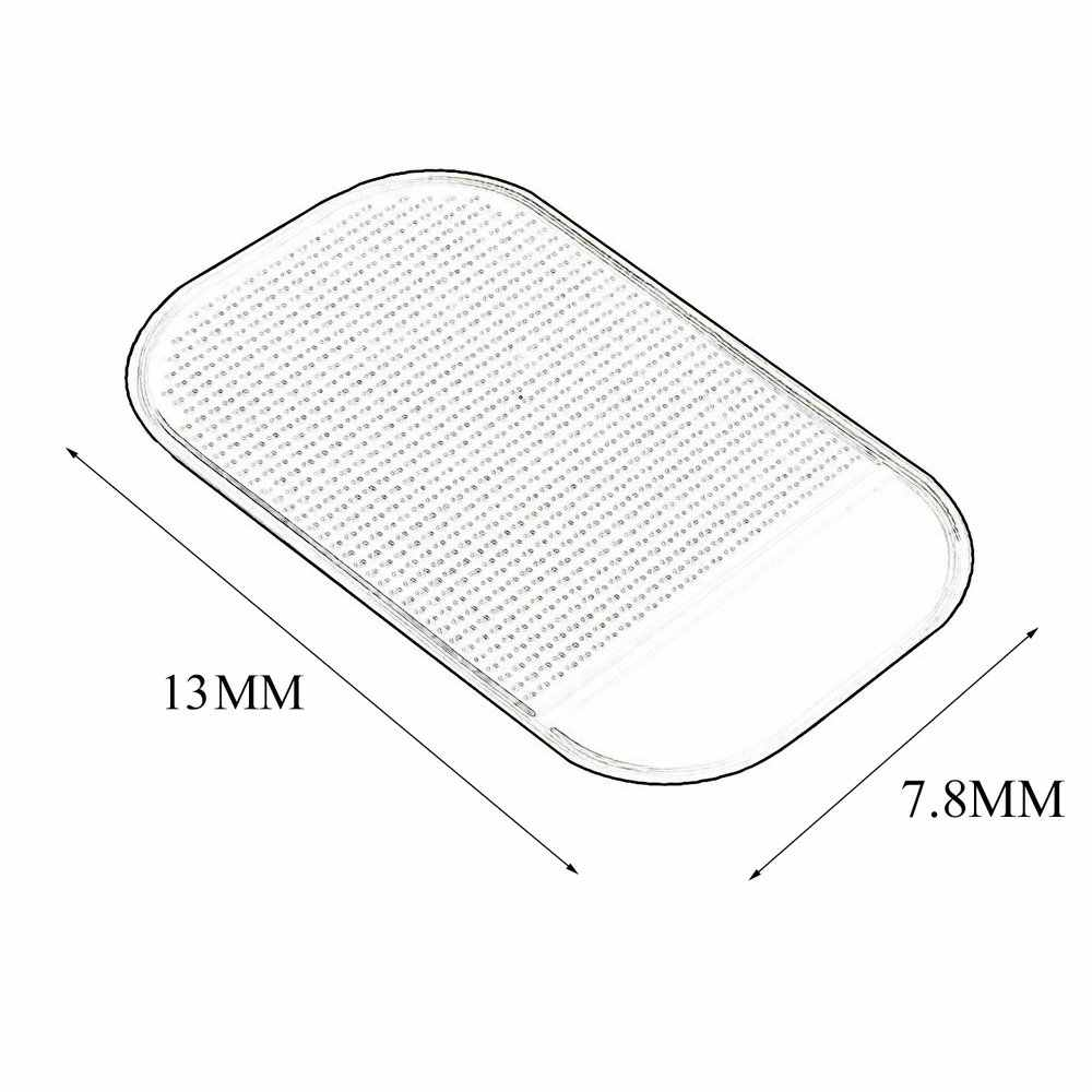1PC 13.8x7.8cm רכב לוח המחוונים דביק Pad סיליקה ג 'ל כרית בעל אנטי להחליק Mat טלפון נייד אביזרי רכב חם