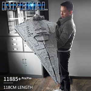 Image 2 - DHL 13135 Star Toys Wars The MOC 23556 Imperial Star Destroyer Set Compatible 05027 Kids Toys Gifts Building Blocks