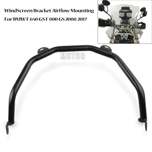 Motorcycle WindScreen Bracket Airflow Mounting For BMW F650GS F800GS 2008-2017 2009 2010 2011 Windshield Mount Bracket Support for bmw g310r 2017 on motorcycle windshield windscreen with mounting bracket high quality abs plastic