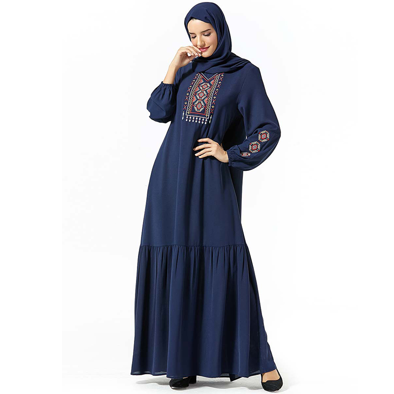 Abaya Kaftan Dubai Hijab Muslim Dress Turkish Dresses Girls Islamic Clothing For Women Caftan Tesettur Elbise Baju Muslim Wanita